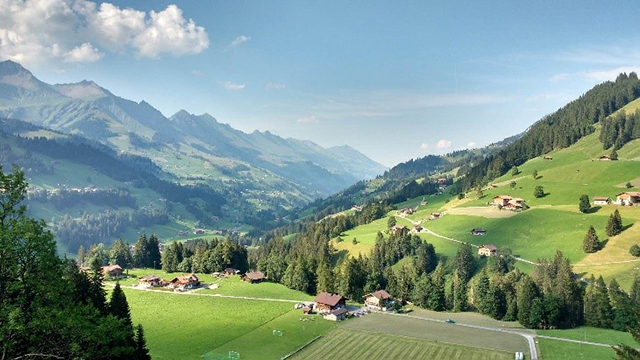 Ten top views in the Berner Oberland Region
